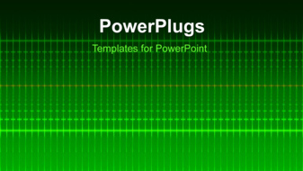 PowerPoint Template - Electric background